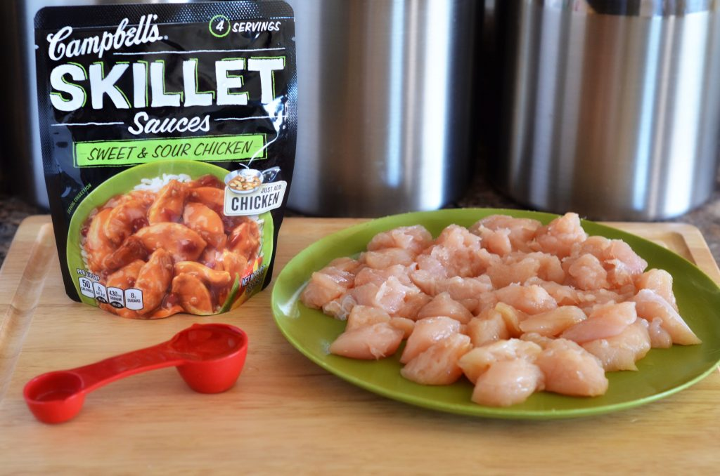 Campbell S Skillet Sauces Sweet And Sour Chicken