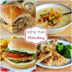 Menu Plan Monday #63