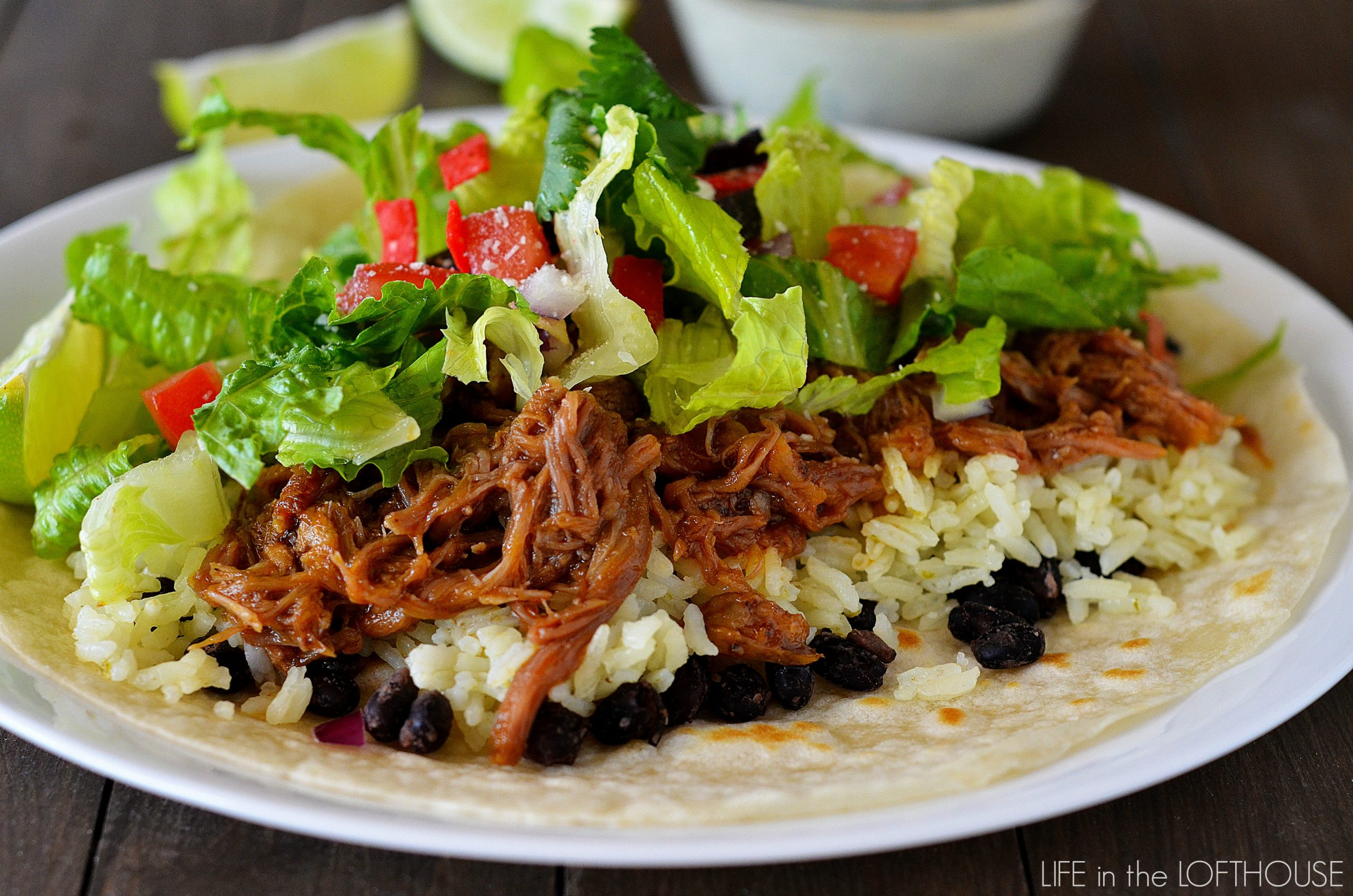 Cafe Rio Sweet Pork Crock Pot Recipe