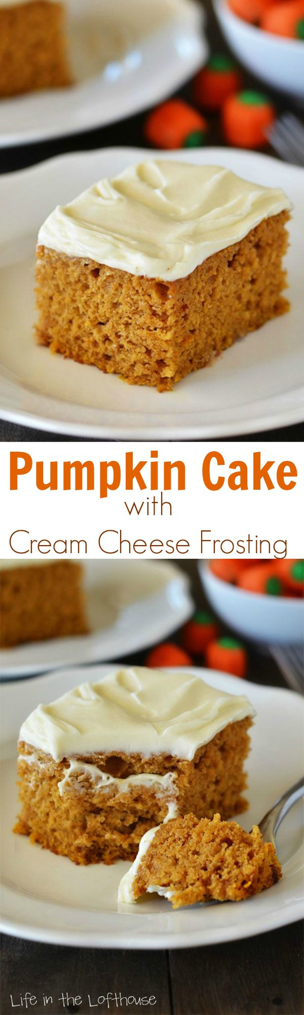 Pumpkin Pound Cake Made With Cream Cheese