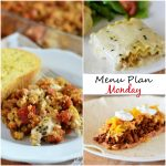 Menu Plan Monday #69