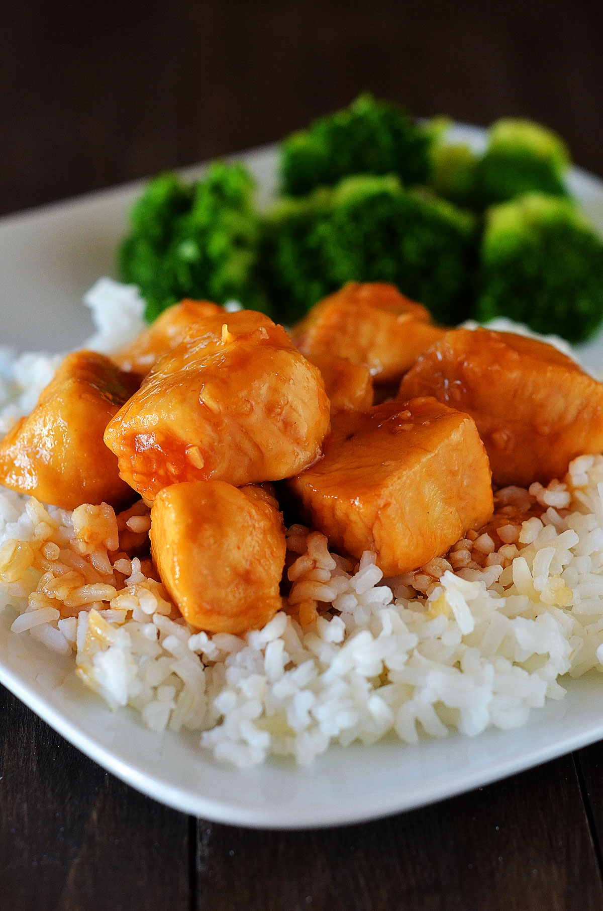 Bourbon Street Chicken is boneless chicken breasts sautéed in a sweet and savory sauce. Life-in-the-Lofthouse.com