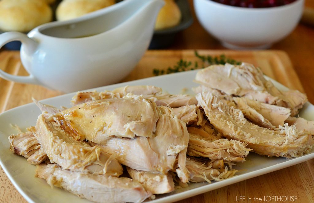 Crock Pot Turkey and Gravy recipe