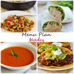Menu Plan Monday #70