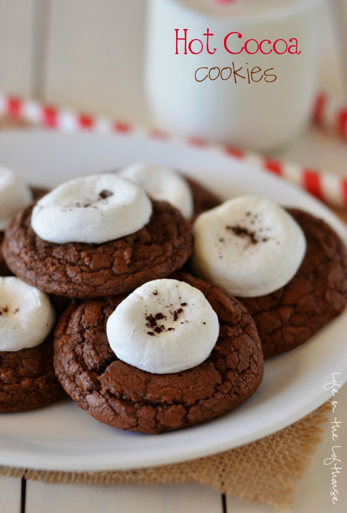 Hot Cocoa Cookies - Life In The Lofthouse