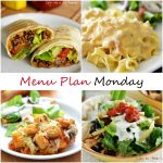 Menu Plan Monday #75
