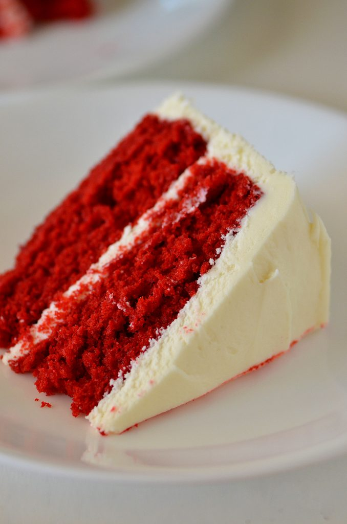 Red Velvet Cake Strawberry Cream Cheese Frosting
