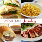 Menu Plan Monday #80