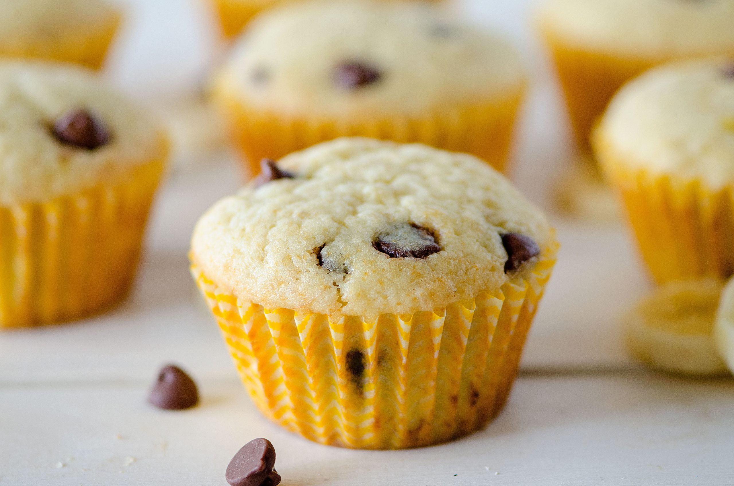 Banana Chocolate Chip Muffins - Life In The Lofthouse