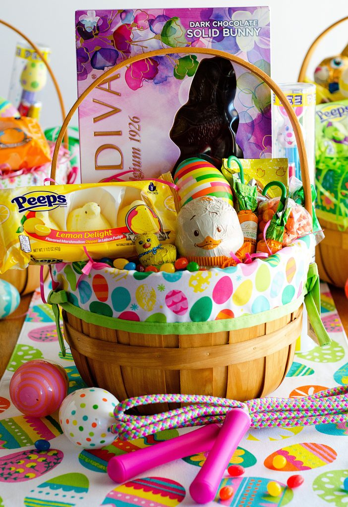 25 easter basket ideas that are perfect for easter liveaster easter sugar cookies and the perfect easter basket from targ negle Choice Image