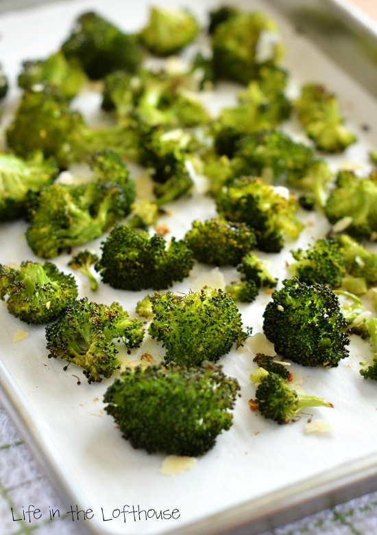 Oven-Roasted Broccoli