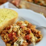 Italian Chicken & Stuffing Bake