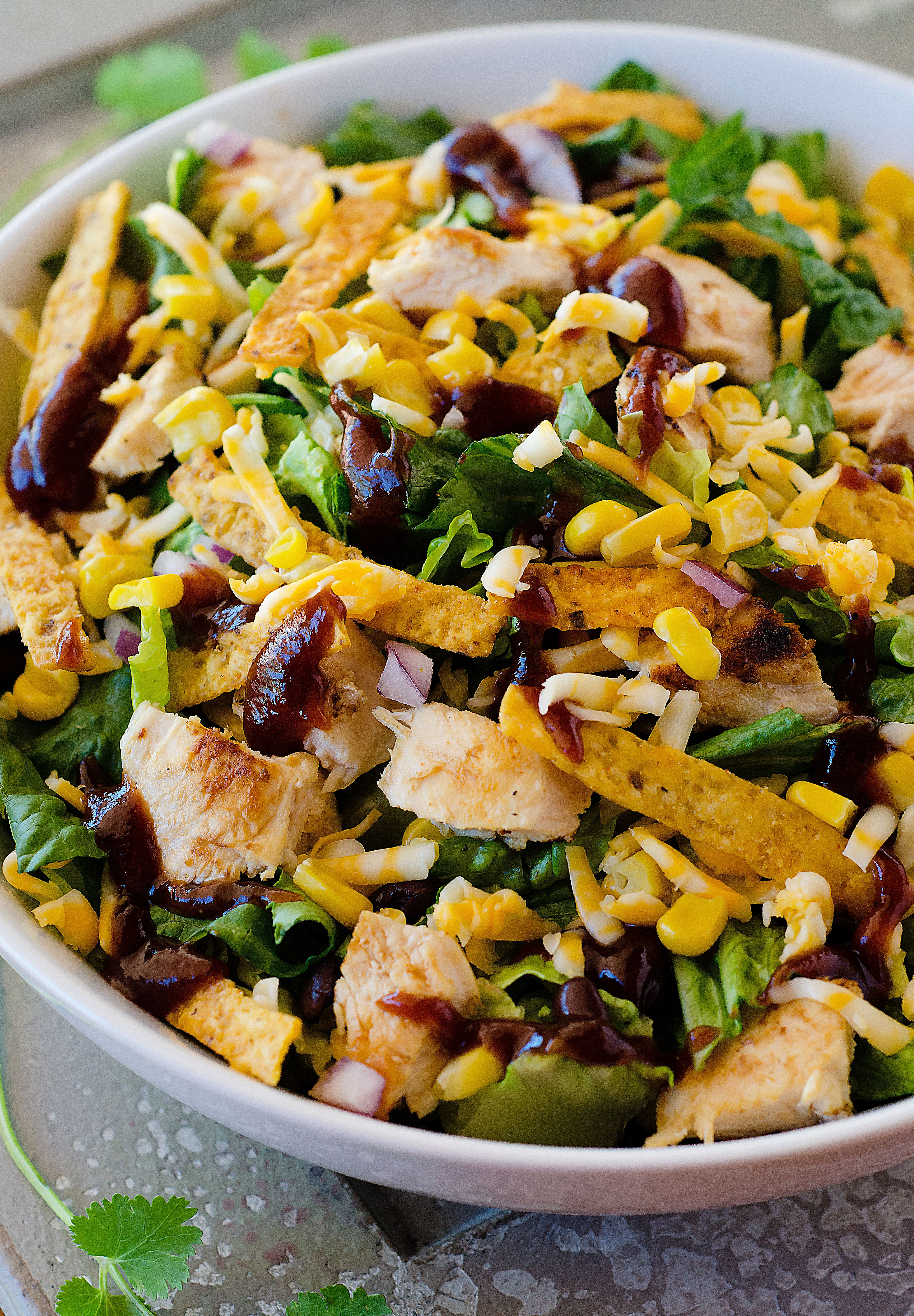 salad chicken bbq recipes lofthouse smash goals loss weight help corn trimmedandtoned