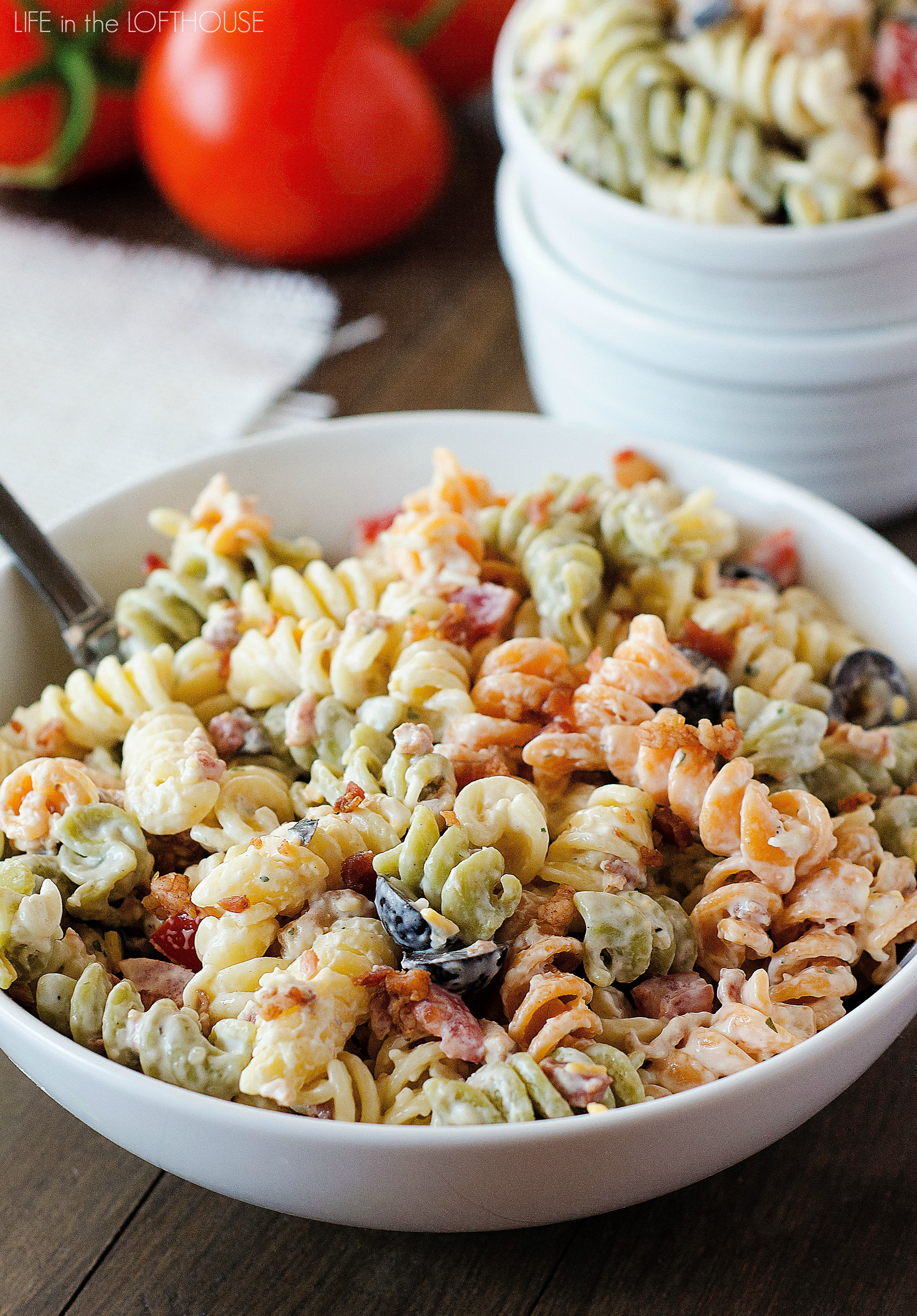 Bacon Ranch Pasta Salad Life In The Lofthouse