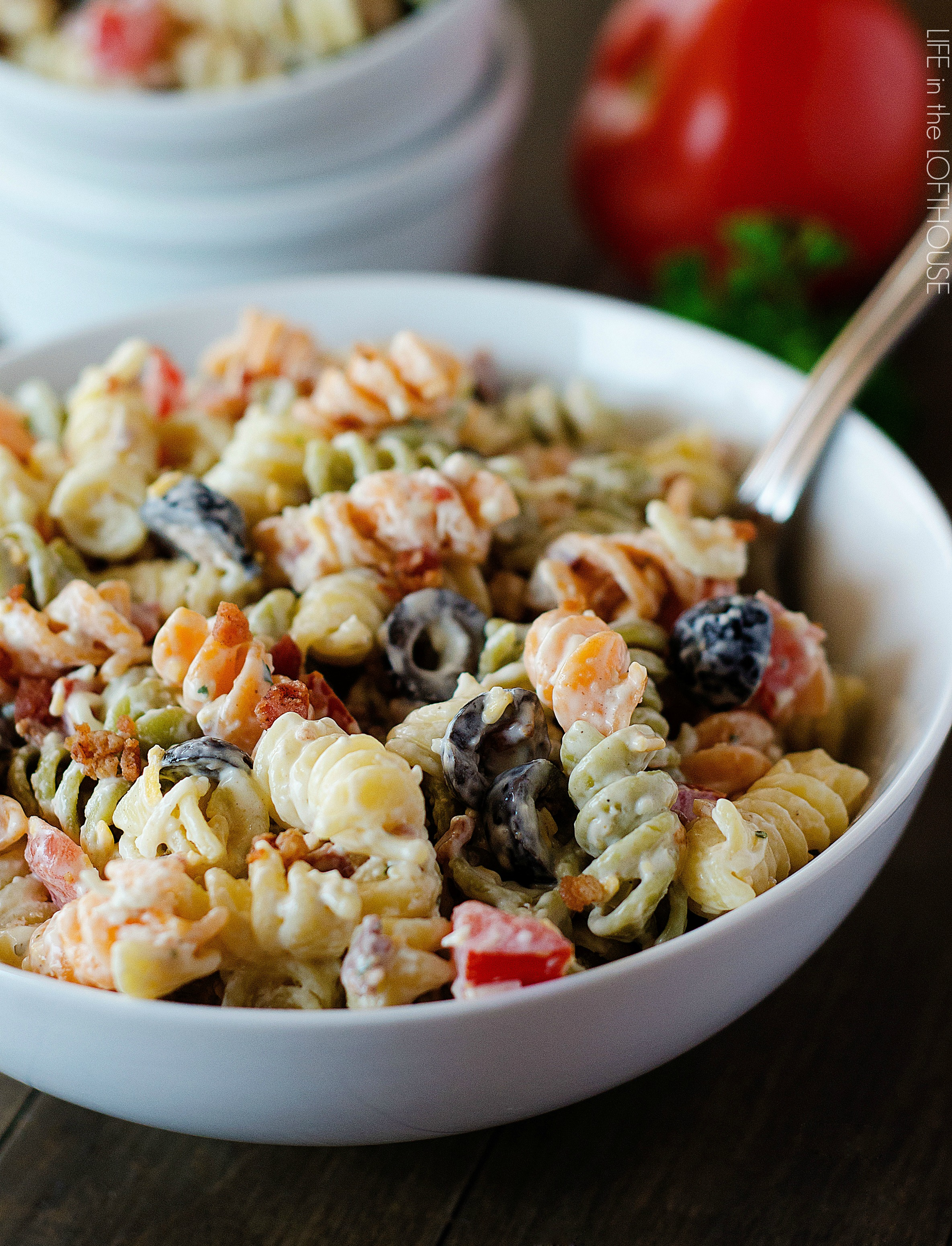 Bacon Ranch Pasta Salad5