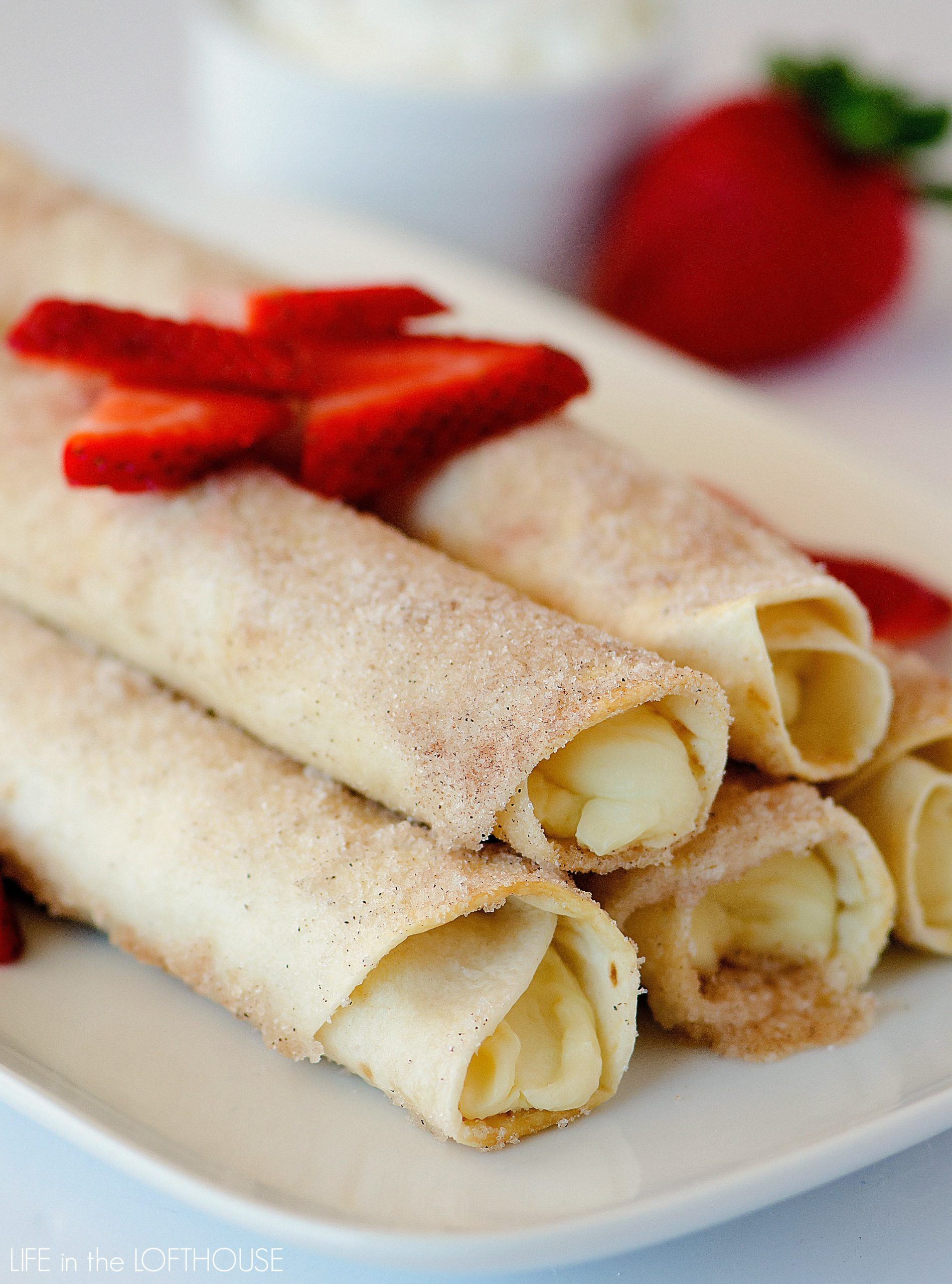Cheesecake Taquitos - Life In The Lofthouse