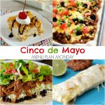 Cinco de Mayo~ Menu Plan Monday