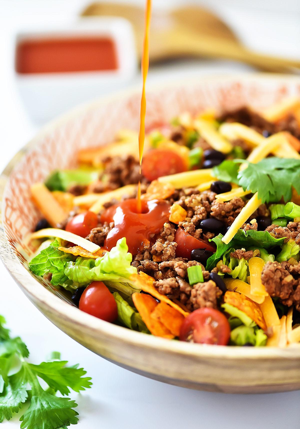 Taco Salad Recipe Ground Beef And Doritos