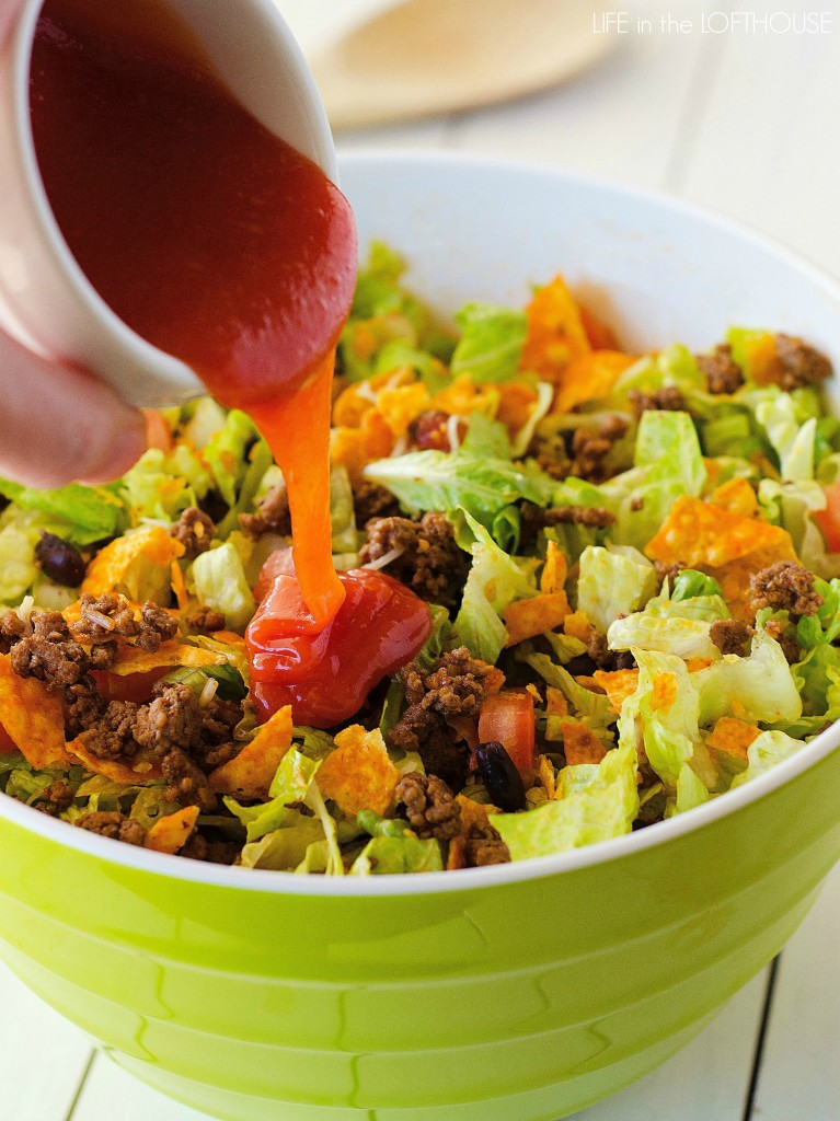 Doritos Taco Salad - Life In The Lofthouse
