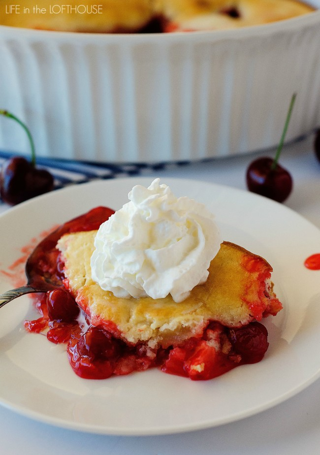 Carolyn's Oh-So-Easy Cherry Cobbler Recipe — Dishmaps