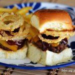 Western Cheeseburger Sliders