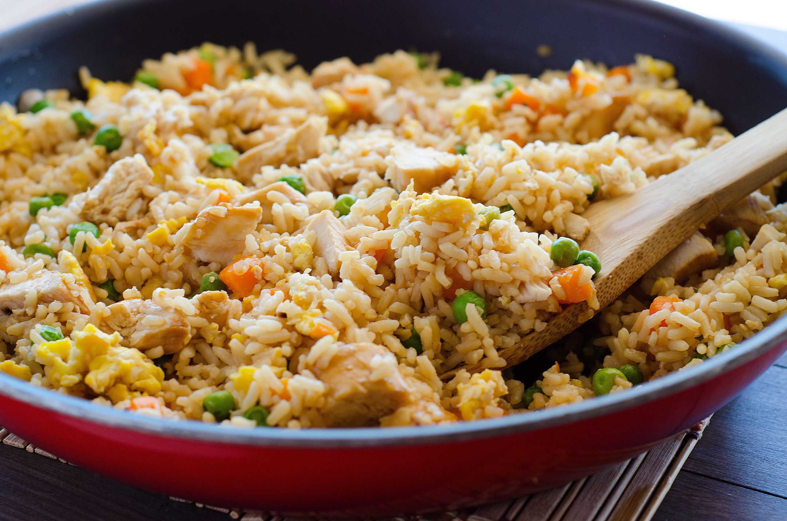 Chicken fried rice chickenfriedrice4 an important thing about making fried rice ccuart Image collections