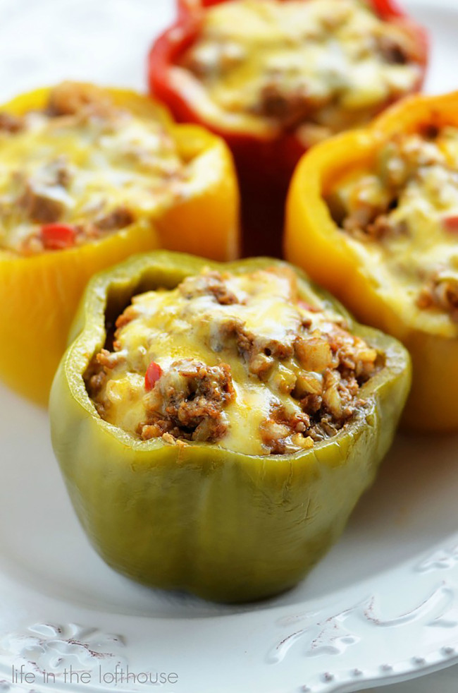 Crock-Pot-Stuffed-Bell-Peppers