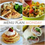 Menu Plan Monday #103