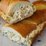 Chicken Stuffed French Bread