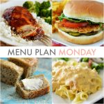 Menu Plan Monday #104