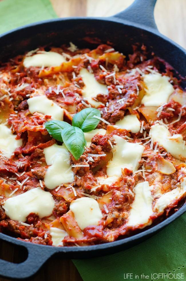 Easy_Skillet_Lasagna