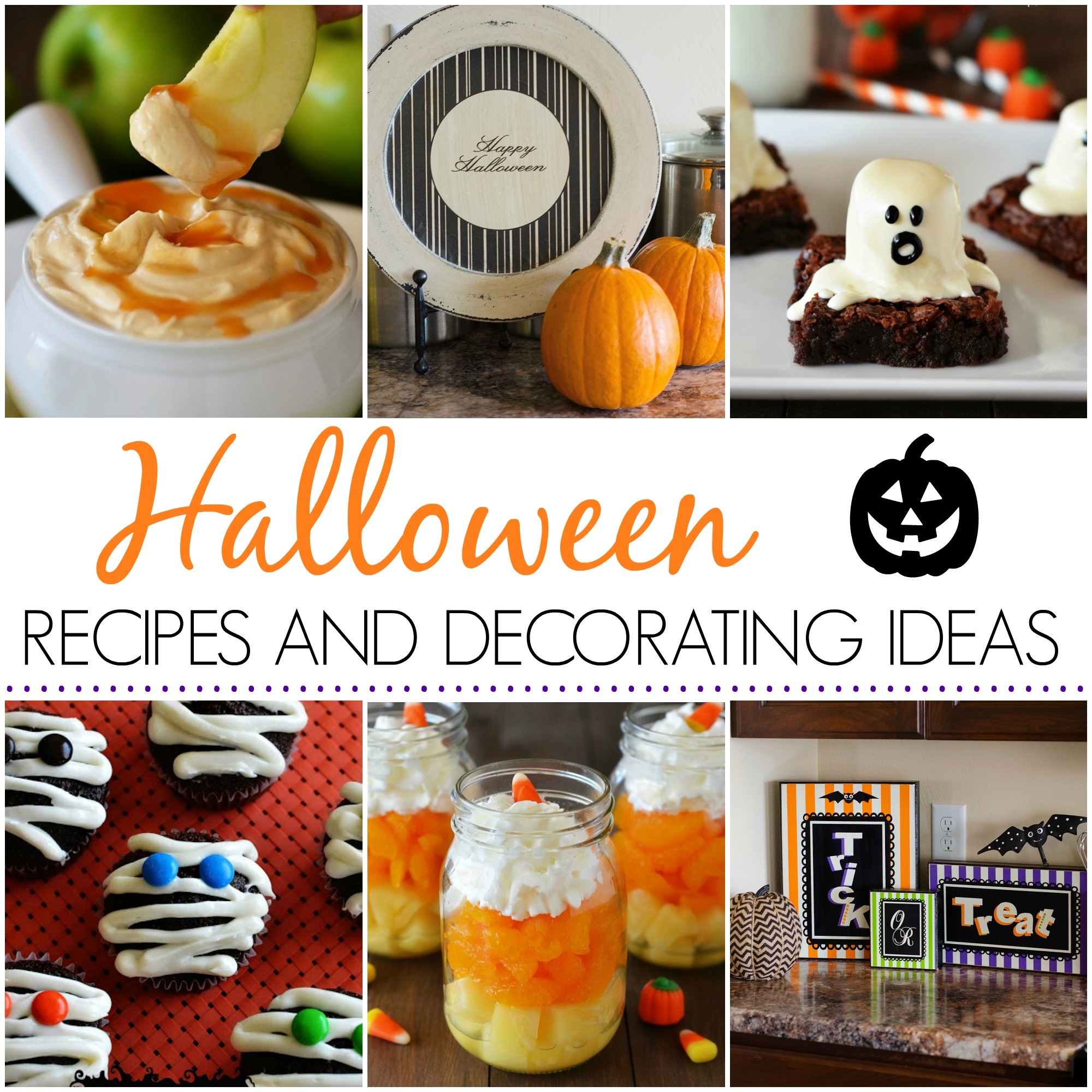 36 Thanksgiving Decorating Ideas And Traditional Recipes: Halloween Recipes And Decorating Ideas