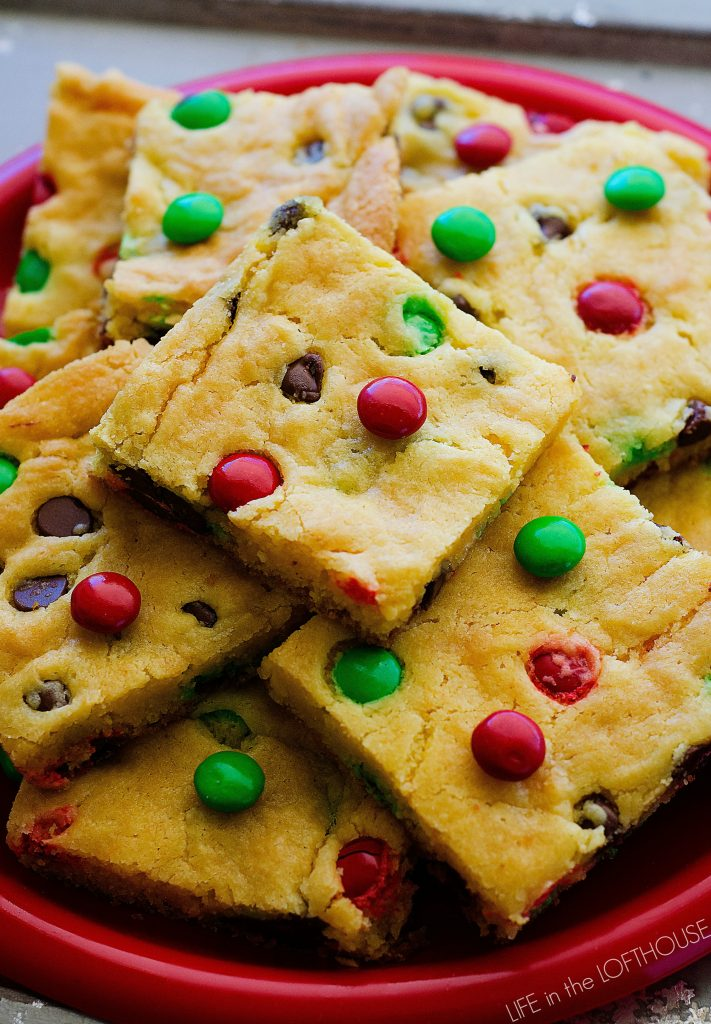 Cake Mix Cookie Bars - Life In The Lofthouse
