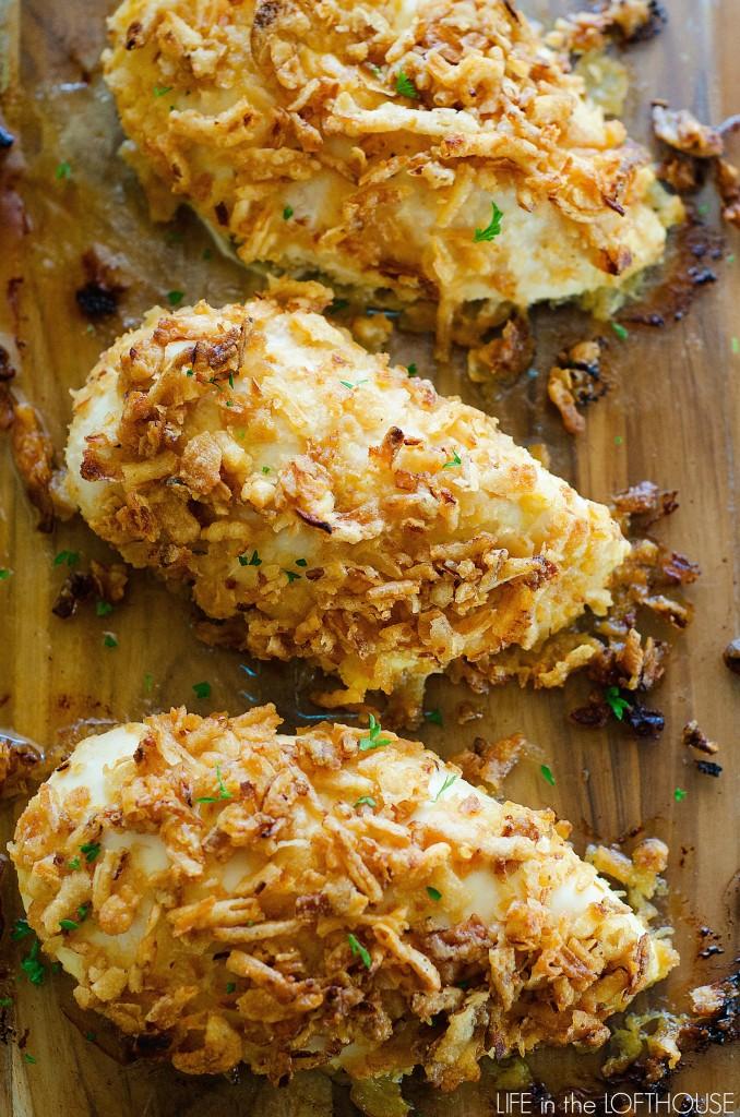 Crispy Onion Chicken Life In The Lofthouse