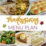 Thanksgiving~ Menu Plan Monday