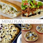 Menu Plan Monday #121