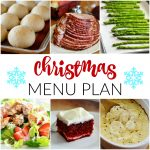 Christmas~ Menu Plan Monday
