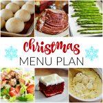 Christmas~ Menu Plan Monday