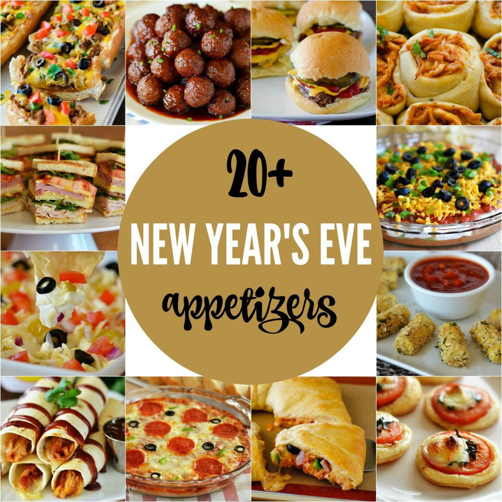 30 New Year's Eve Appetizers to Deliciously Ring in Our New Year's resolution: Make every one one of these tasty bites.