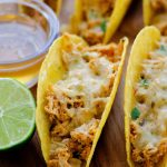 Oven Baked Honey Lime Chicken Tacos