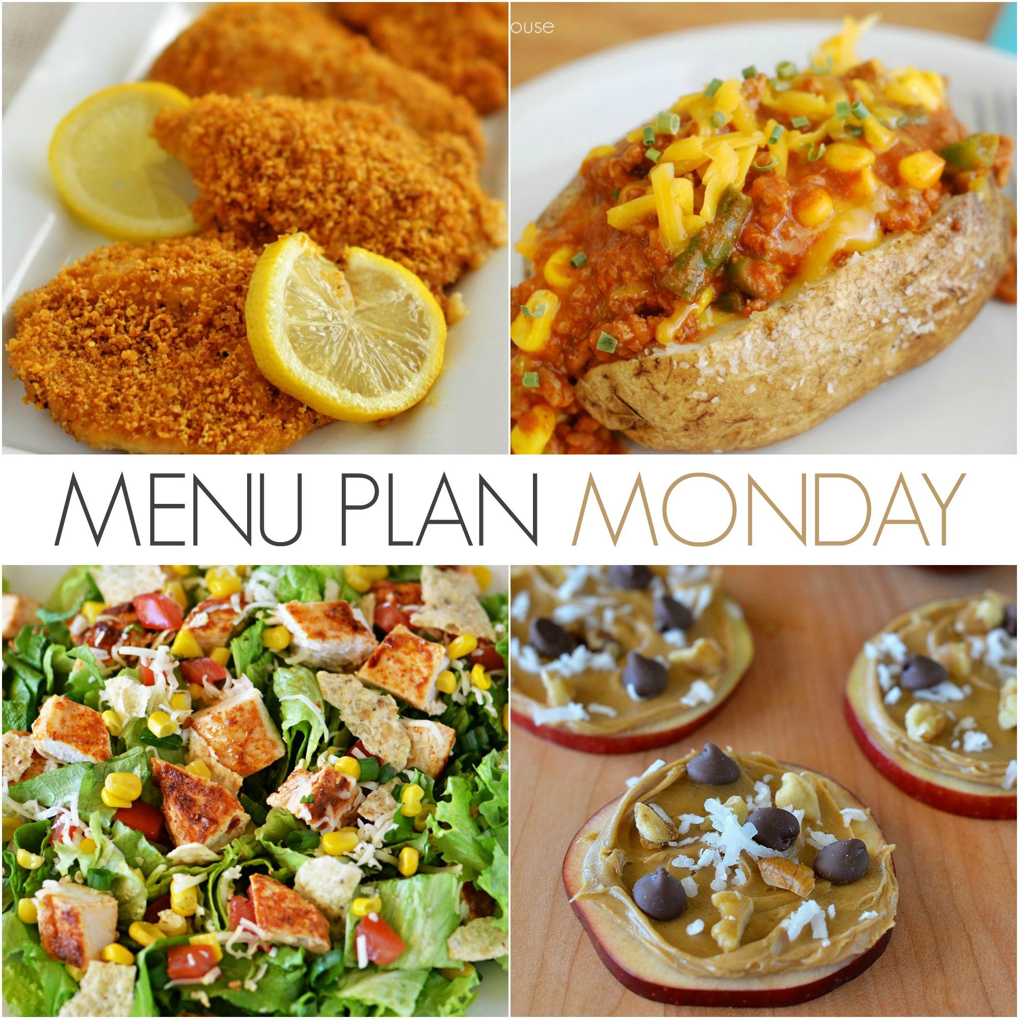 Menu Plan Monday #125
