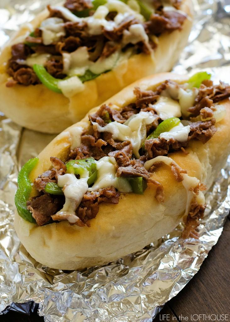Cheesesteak Sandwiches