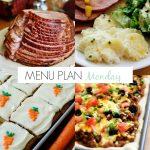 Menu Plan Monday #134