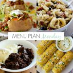Menu Plan Monday #132