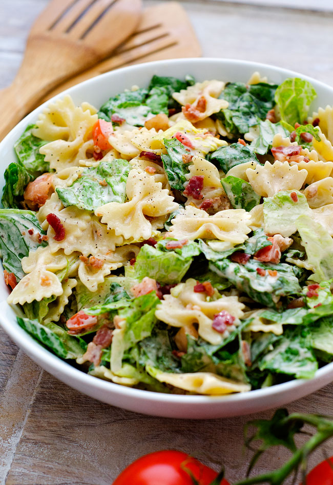 BLT Pasta Salad - Life In The Lofthouse