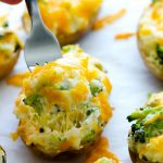 Cheesy Broccoli Twice-Baked Potatoes