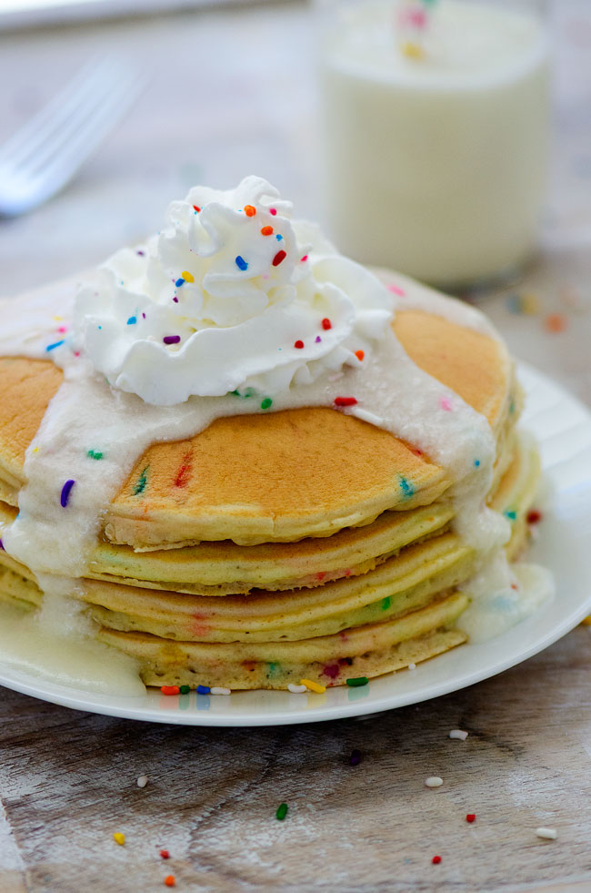 Funfetti Pancakes - Life In The Lofthouse