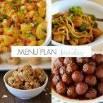 Menu Plan Monday #136