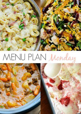 Menu Plan Monday #139