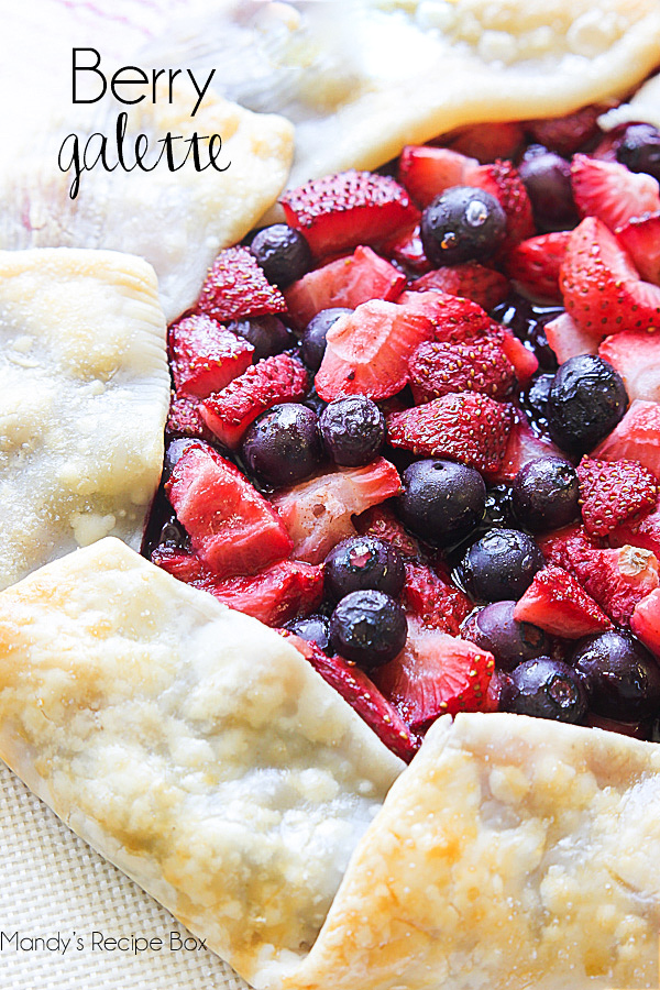 Berry Galette - Life In The Lofthouse